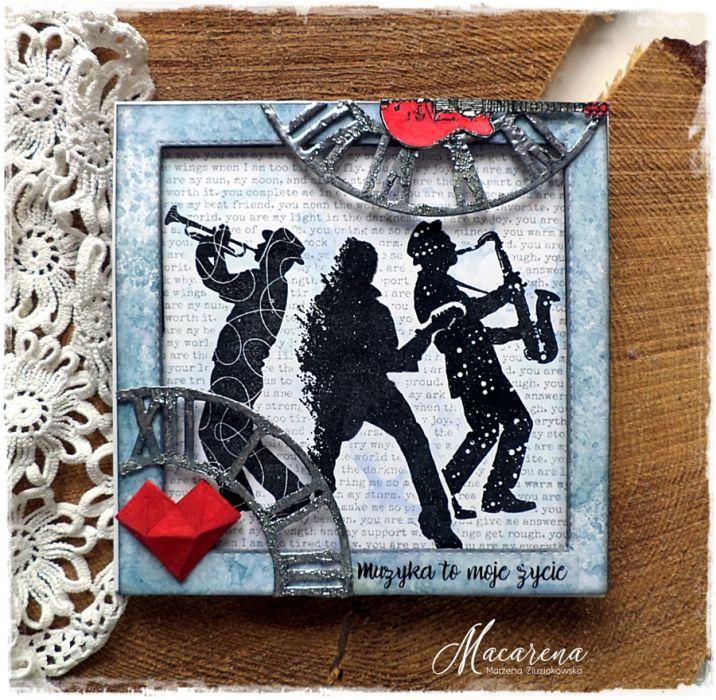 Muzyka - kartka urodzinowa