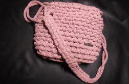 Torebka ze sznurka na szydełku handmade