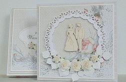 Ślub w koronkach i w pudełku