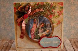 Kartka świąteczna  - Boża Rodzina 1