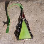 Choinka mini - zestaw 08 - choinka witrażowa