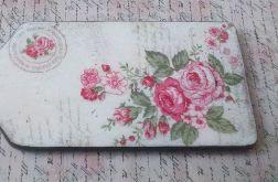 Drewniana deseczka - róże