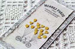 Tandem i żółte baloniki - wzór 001
