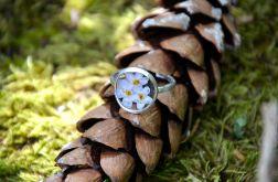 Zatopek pierścionek niezapominajki I