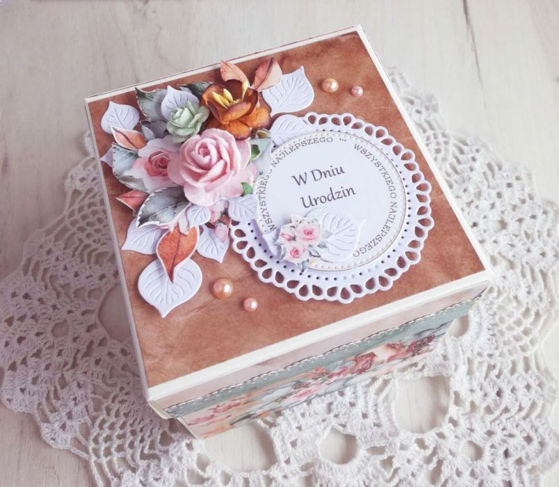Exploding box urodzinowy dla Babci GOTOWY