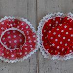 Kapturki na słoiki - czerwone w kropy