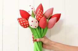 Tulipany walentynkowe