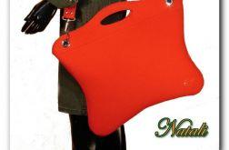 Oryginalna, uniwersalna duża czerwona torba
