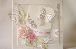 Srebrzysta z różem na ślub
