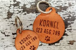 Klasyczna adresówka dla zwierząt rozmiar L