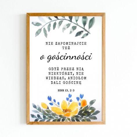 Plakat - prezent ślubny, wydruk