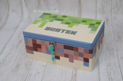 Kufer dla chłopca MINECRAFT