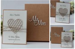Stylowy zestaw ślub Mr&Mrs I