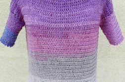 Sweter ze srebrną nitką