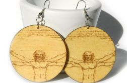 Kolczyki malarstwo - Leonardo Da Vinci