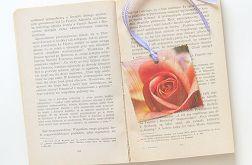 Zakładka do książki róża