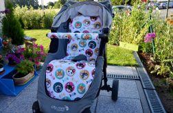 Materacyk + osłonka do Baby Jogger City Mini
