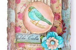 Ptaszkowa, przestrzenna kartka