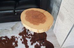 Stolik kawowy drewniany jesion