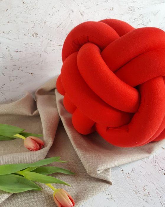 Poduszka czerwona