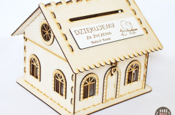 Domek PUDEŁKO box skrzynka na koperty życzeni