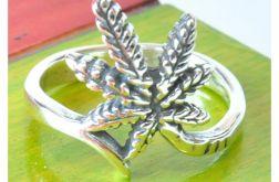 82 pierścionek vintage, srebrny,