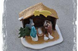 Szopka ceramiczna tradycyjna