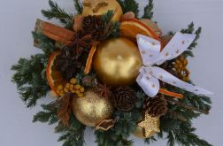 stroik Bożonarodzeniowy złoty