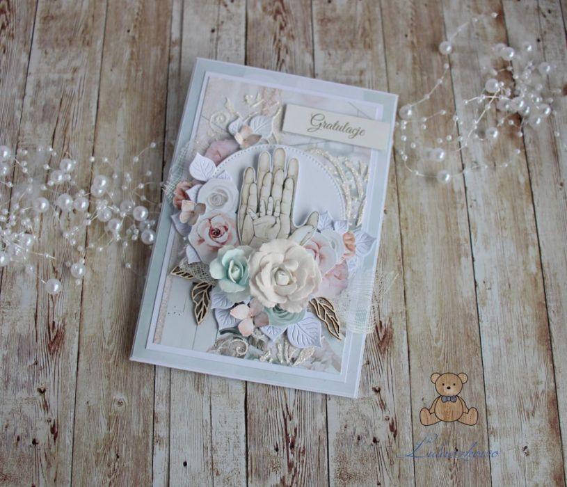 Kartka na narodziny chrzest Tiny Love2 GOTOWA