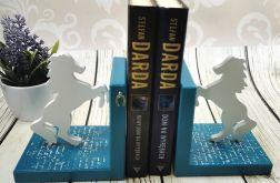 Podpórki do książek - konie (dr8)