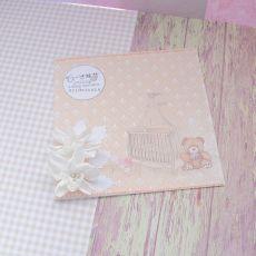 Kartka z okazji narodzin + koperta