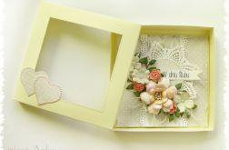 Kartka w pudełku na Ślub