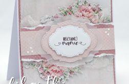 Kartka na Dzień Matki kwiatowa KDM2004
