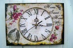 Zegar Ścienny Retro Obrazek Prezent Dekor