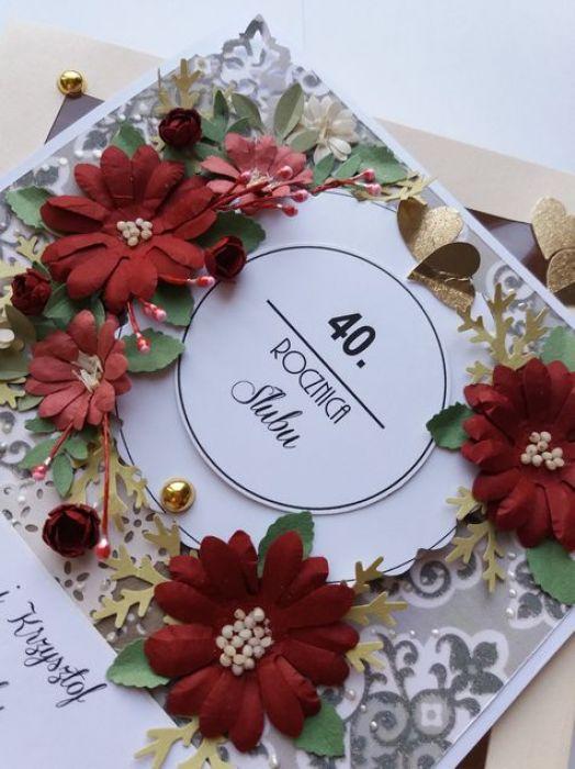 Z okazji 40 Rocznicy Ślubu - na zamówienie
