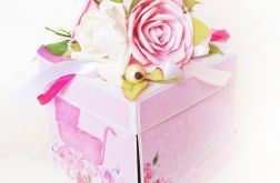 Pudełko na Chrzest święty dla dziewczynki