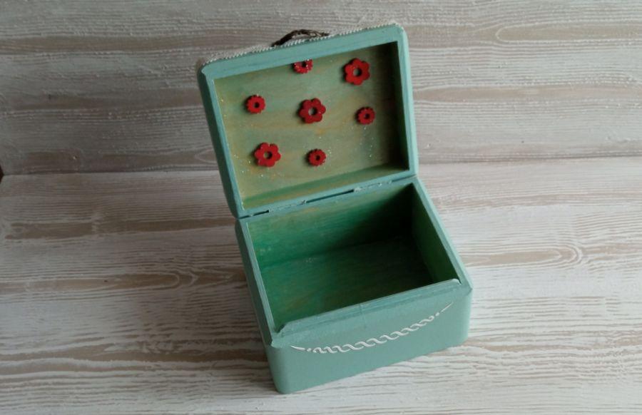 Pudełko z dziewczynką - Wnętrze pudełka