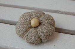 Lniana z drewnianym koralem