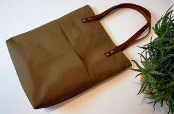 Torebka damska shopper bag WASHPAPA tajga