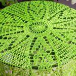 Serweta w zieleni - serwetka