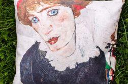 Poszewka - Egon Schiele, Portret kobiety