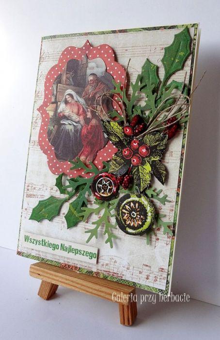 Boże Narodzenie A81 - kartka bożonarodzeniowa