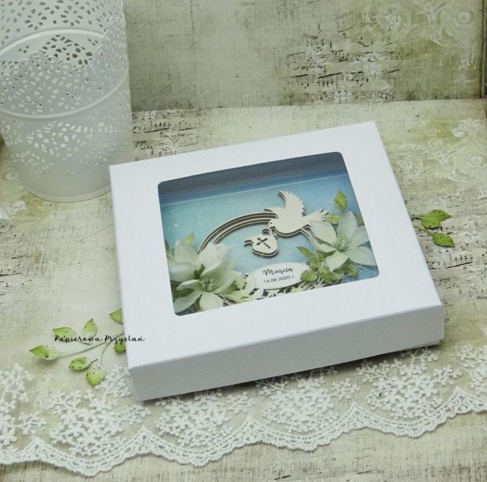 Pamiątka chrztu św. z gołębicą 2 - pamiątka chrztu dla chłopca