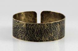 Kamień - mosiężna bransoleta 200207-04