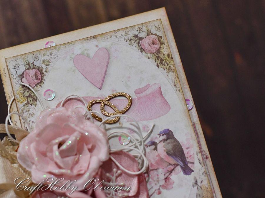 Ślubne obrączki - z ptaszkami - Ślubne obrączki - detal I