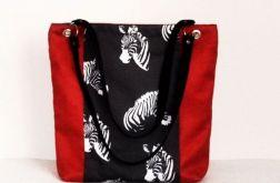 Eenergetyczna torba xl Zebry
