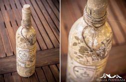 """Butelka """"Wyrzucona przez morze"""""""