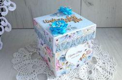 Exploding box ślubny z tortem Dreamer