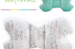 Poduszka Podróżna łapacze - mięta