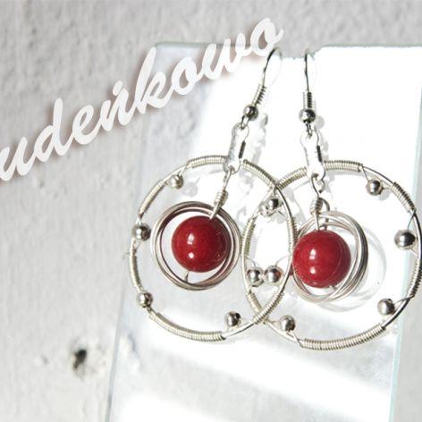 Jaspis czerwony - wire